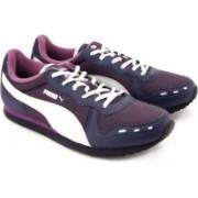 Puma Cabana II Sneakers For Women(Purple, Navy, White)