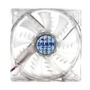 Вентилатор 120mm Zalman ZM-F3 LED SF, Blue LED, 4-пинов PWM, 1200rpm