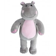 Recordable Talking Hippo hippopotamus with adoption paper record your own