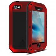 LOVE MEI Ochranný kryt pro iPhone 5 / 5S / SE - LOVE MEI, POWERFUL RED
