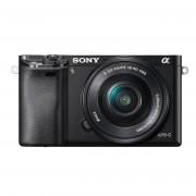Refurbished-Very good-Hybrid Sony ILCE-6000 Black