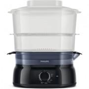 Philips Уред за готвене на пара Daily Collection 5 L, 900 W, съд за ориз/супа, инфузер за подправки и аромати, контейнер за яйца