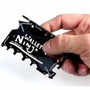 Wallet Ninja Card Ustensila Multifunctionala 18in1