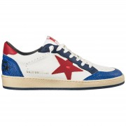 Golden Goose Scarpe sneakers uomo in pelle ball star