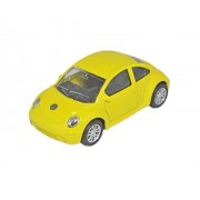 Babysid Collections Metal Car Toys for Boys Kids Gifting Friction Powered Toys Small Toy VW Beetle Yellow Size : 10 x 4.5 x 4 cm