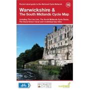 Fietskaart 16 Cycle Map Warwickshire & The South Midlands   Sustrans