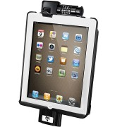 RAM Dock-N-Lock Model Specific Sync & Lock Cradle for the Apple iPad 2 Without Case, Skin Or Sleeve