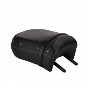 Indian Motorcycle Scaun pasager - Black with Studs
