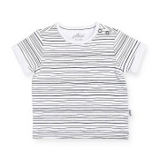 Jollein T-shirt Black Stripes 74/80