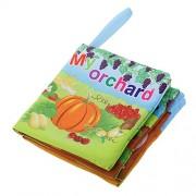 Generic Baby Orchard Theme Cloth Cognize Book Kid Children Intelligence Development Toys