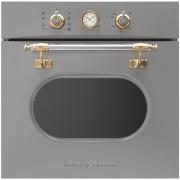 Cuptor incorporabil Bompani Retro BO245WA/E, electric, multifunctional, 60cm, 54l,grey platinium