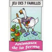 Jeu 7 Familles - Animaux De La Ferme