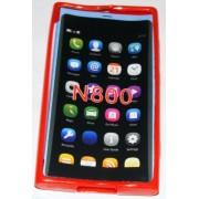 Силиконов гръб ТПУ за Nokia Lumia 800 Червен