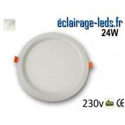 New Spot LED Ultra Slim 24W blanc naturel 230V
