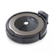 Прахосмукачка IRobot Roomba 896, робот, безжична, до 120 мин. работа, за площ до 100 кв.м, AeroForce филтър, кафява