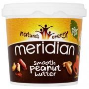 MERIDIAN NATURAL Natural Peanut Butter SMOOTH 1 kg MERIDIAN NATURAL - VitaminCenter