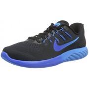 Nike Men s Lunarglide 8 Running Shoe Black/Multicolor/Deep Royal Blue/Hyper Cobalt 8 D(M) US