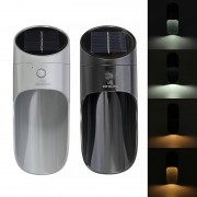 Kültéri napelemes indukciós fali lámpa