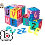 BabyGo – Salteluta de joaca cu cifre si litere Puzzle 36 piese