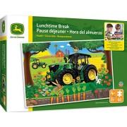 MasterPieces John Deere Lunchtime Break - Tractor 60 Piece Kids Puzzle