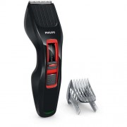 Машинка за подстригване, Philips Series 3000, DualCut Technology, Black/Red (HC3420/15)