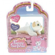 Puppy Surprise Mystery Puppy Pack More Pups To Love! (Boy Puppy/White Body Tan & White Face)