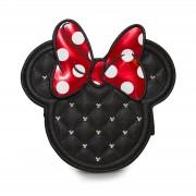 Loungefly Bandolera Acolchada con Cadena - Loungefly Disney - Minnie Mouse