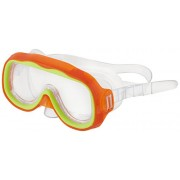 Two Kids Swim Mask W/ Nose Cover Swimming Masks Colors Vary