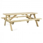 Picknicker 180 picknicktafel tuinmeubilair tafel bank 32 mm FSC grenen