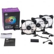 Ventilator PC cooler master Sursa de alimentare ventilator / 120R locuinte Masterfan ARGB Pack -R4-120R LED-203C-R1