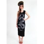 KILLSTAR női ruha- Serpent - Black