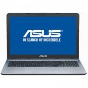 "Notebook Asus VivoBook Max X541UA, 15.6"" HD, Intel Core i3-7100U, RAM 4GB, HDD 500GB, Endless, Argintiu"
