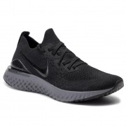 Обувки NIKE - Epic React Flyknit 2 BQ8928 001 Black/Black/White/Gunsmoke