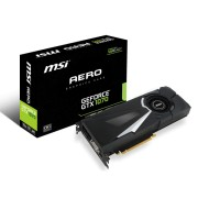 VGA MSI GTX 1070 AERO 8G OC, nVidia GeForce GTX 1070, 8GB 256-bit GDDR5, do 1721MHz, DP 3x, DVI-D, HDMI, 36mj