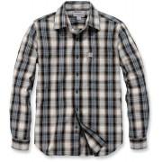 Carhartt Essential Košile M Bílá Modrá