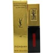 Yves Saint Laurent Rouge Pur Couture Vernis à Lèvres Glossy Stain 6ml - 46 Rouge Fusain