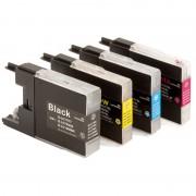 ZipZap LC-1240/LC-1280 Pack 10 Cartuchos Multicolor Compatibles Brother