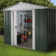 Yardmaster Emerald Deluxe Metal Shed 8 x 9