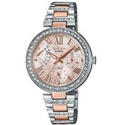 Casio Sheen Analog Mother Of Pearl Dial Womens Watch-SHE-3043BSG-9AUDR (SH195)