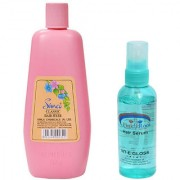 Simco Classic Hair Fixer 500g and Pink Root Hair Serum Pack of 2
