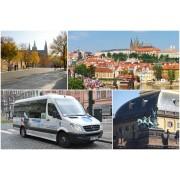 2 órás városnéző túra busszal és gyalogosan Prága belvárosában 1 fő részére