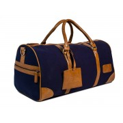 Bagasi SE Weekendbag kanvas I - Navy