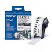Brother Originale P-Touch QL 500 Etichette (DK-22210) bianco 29mm x 30,48m - sostituito Labels DK22210 per P-Touch QL500