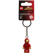 Lego Super Heroes Invincible Iron Man Keyring / Key Chain - Official LEGO Product