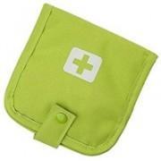 BEGMY First Aid Pouch Medicine Tablet Storage Organizer Wallet For Travel (Green Color)(Green)