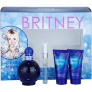 Britney Spears Fantasy Midnight coffret II. Eau de Parfum 100 ml + Eau de Parfum 10 ml + creme corporal 50 ml + gel de banho 50 ml