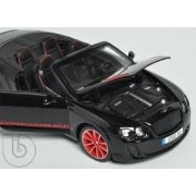 2012 2013 Bentley Continental Supersports ISR Convertible Black 1/18 by BBurago 11035