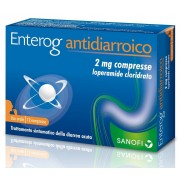 Sanofi Enterog Antidiarroico 2mg 12 Compresse