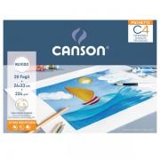 ALBUM POCHETTE C4 CARTA DA DISEGNO 24X33CM 224GR 20FG RUVIDO CANSON - Z12959 null