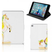 B2Ctelecom Apple iPad Mini 5 Hippe Tablet Hoes Horse Color